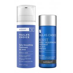 AHA set Exfoliant proti stárnutí a pro obnovu povrchu pokožky