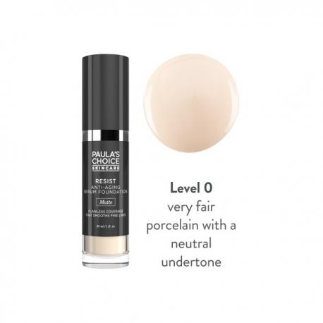 RESIST zmatňující make-up s anti-aging účinkem
