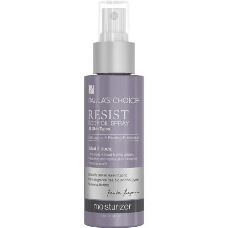 Resist Olejový tělový spray