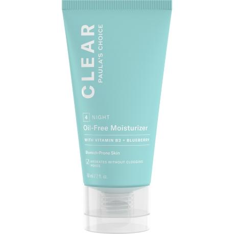 CLEAR Nemastný noční hydratační krém