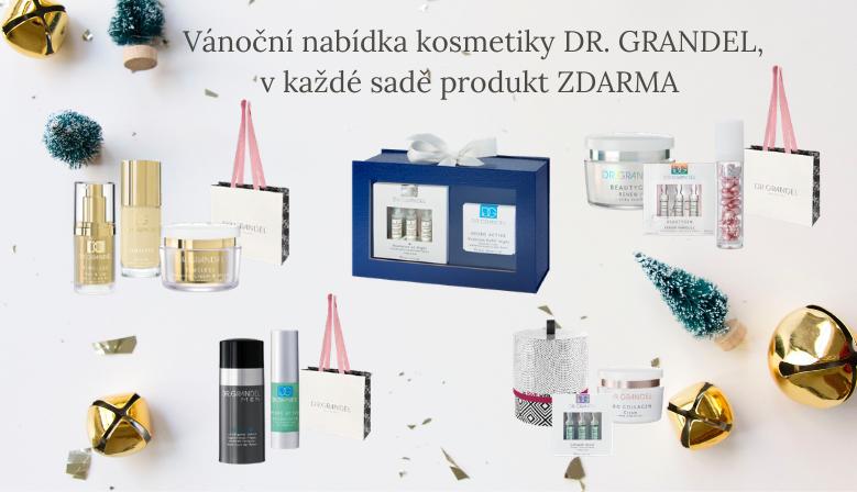 Vánoční akce s kosmetikou DR. GRANDEL