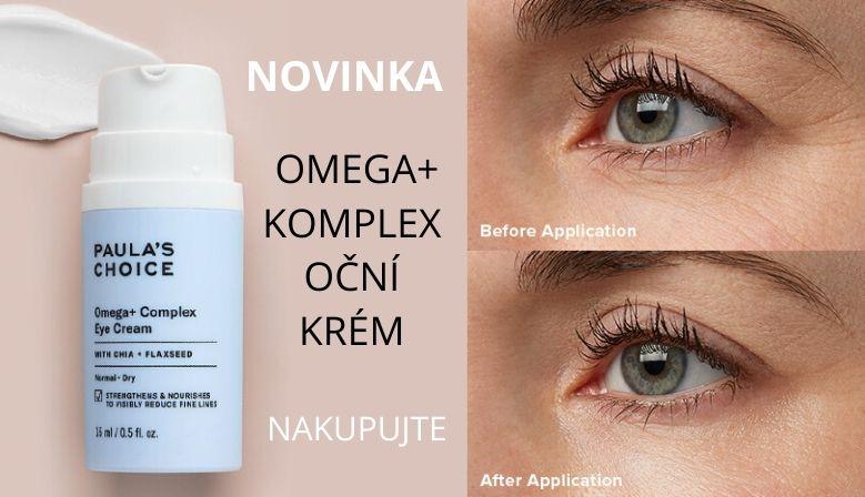 Oční krém Omega+ Complex